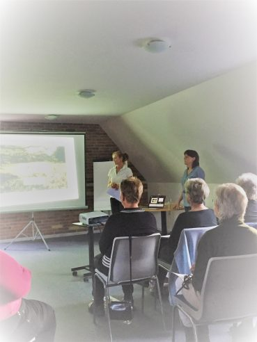 Fysiocenter Helsinge/Golfklinik på besøg hos Møllepigerne i Ree Golf