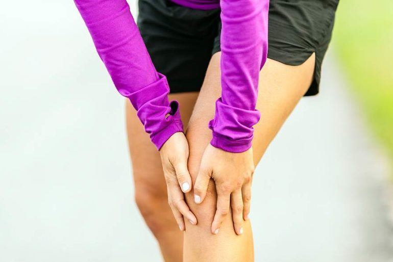 Informationsaften med knæ og/eller hofte smerter